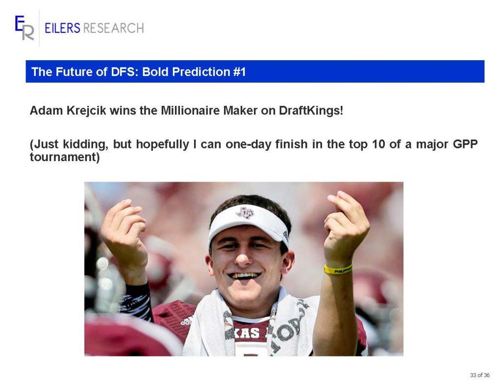 Krejcik final prediction