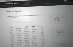FanDuel Financial Info