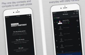 Daily fantasy sports yahoo app