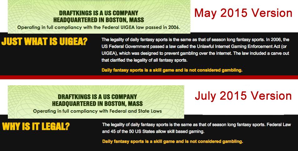 DraftKings UIGEA