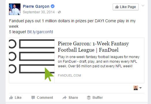 Garcon Facebook
