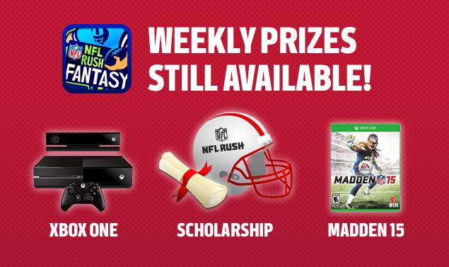 NFL Rush Prizes