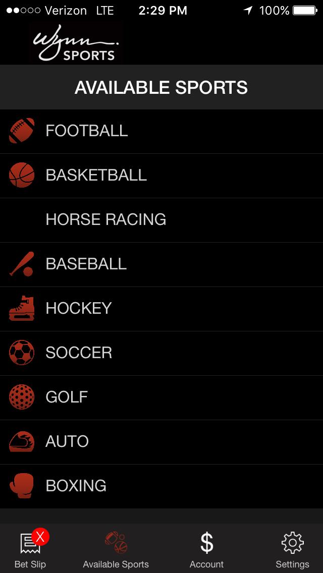 Wynn Sports Betting App - Wynn Sports Book App & Lines