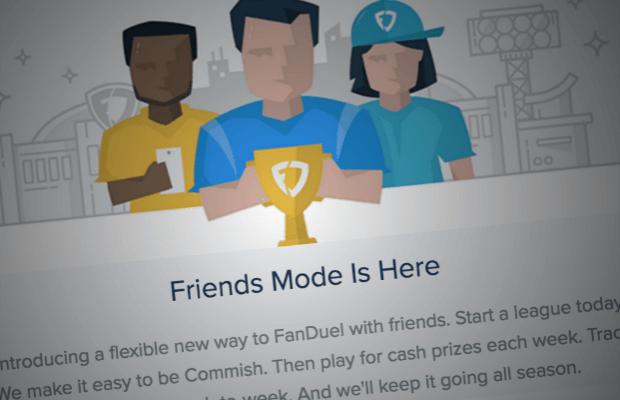 FanDuel Friends Mode