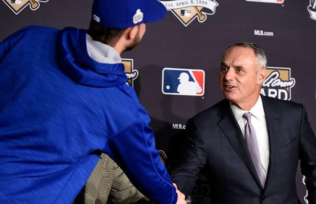 MLB Manfred las vegas