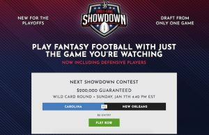 NFL Showdown DraftKings