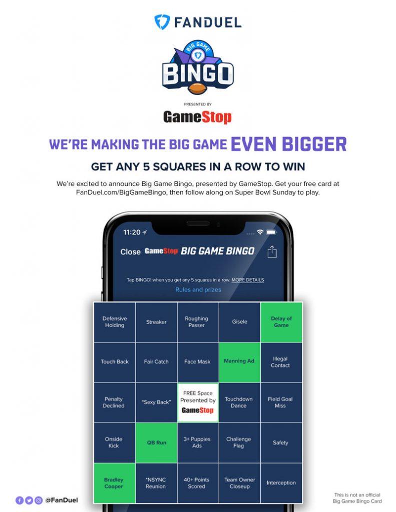 FanDuel bingo