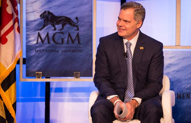 MGM sports betting CEO