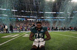 Super Bowl betting Eagles win