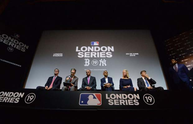 Major League Baseball announce two London games in 2019