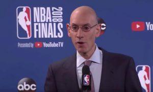 Adam Silver sports betting NBA Finals