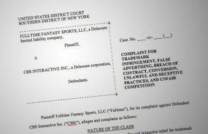 fantasy lawsuit