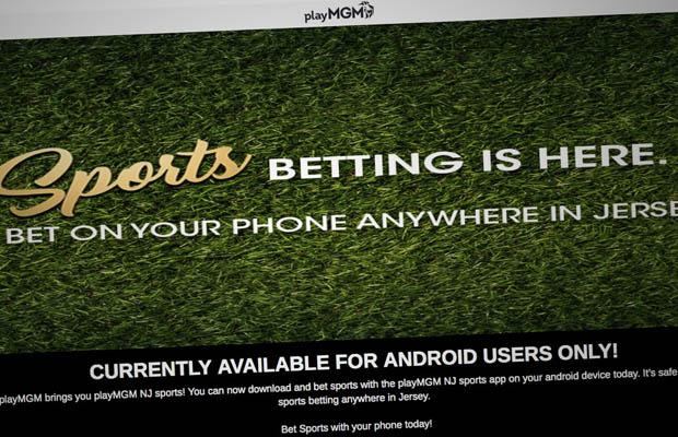 playmgm NJ sports betting launch