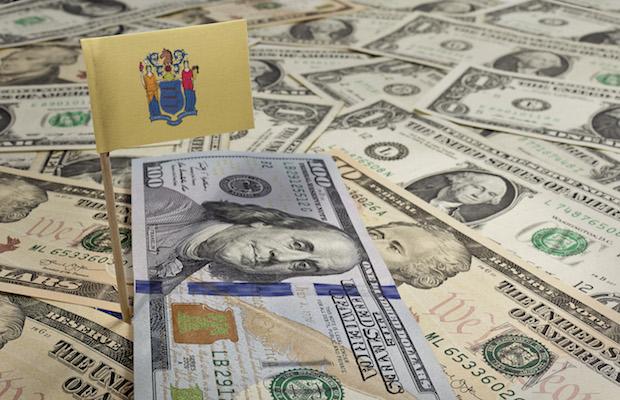 NJ sports betting revenue