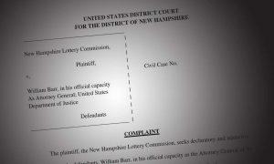 NH lottery vs DOJ wire Act